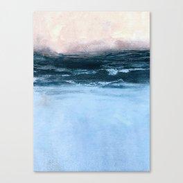 misty sunrise Canvas Print