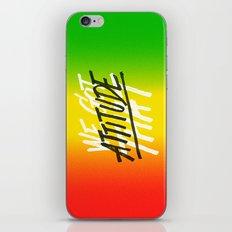 Attitude iPhone & iPod Skin