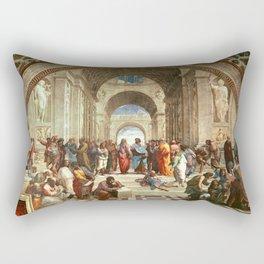 School Of Athens Painting Rectangular Pillow