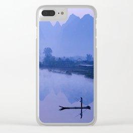 LI RIVER AT DAWN-GUILIN CHINA Clear iPhone Case