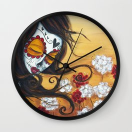 She Forgets Me Not Wall Clock
