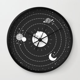 The Space Cat Wall Clock