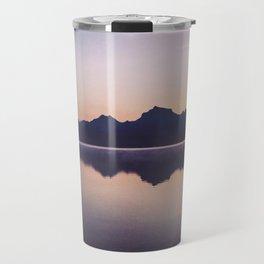 Sunrise over Glacier Travel Mug