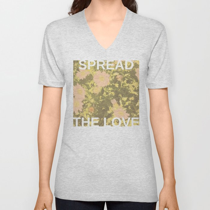 Spread the Love Unisex V-Neck