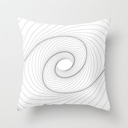 """Abstract Collection"" - Abstract Dotted Lines Art Throw Pillow"