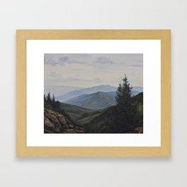 WaterRock Knob Framed Art Print