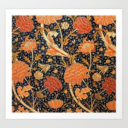 "William Morris ""Cray"" 2. Art Print"