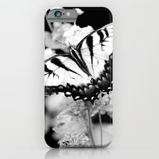 BLACK & WHITE BUTTERFLY iPhone 6s Slim Case