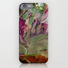 Abstract Purple Green Sky iPhone 6s Slim Case