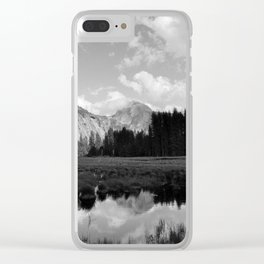 Half Dome Reflection Clear iPhone Case