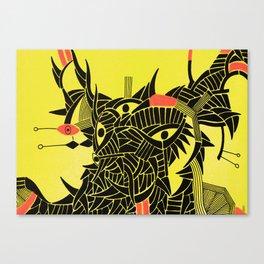 - down - Canvas Print