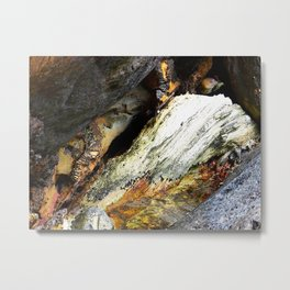 """""""Rock Scramble (iv)"""" by ICA PAVON Metal Print"""