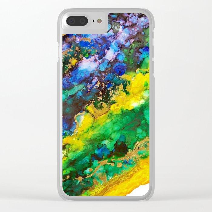 A L I V E Clear iPhone Case