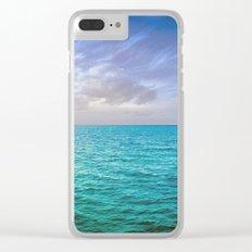 Caribbean Sea Clear iPhone Case
