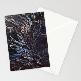 Edgy Owly DPG170707c Stationery Cards