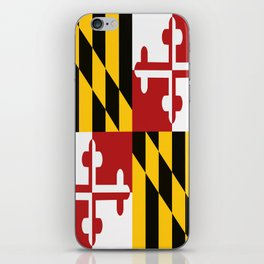Maryland Colours iPhone Skin