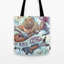 The Vaccines (band poster) Tote Bag