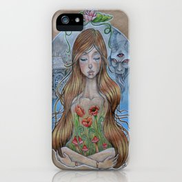 Girl Without Hands iPhone Case