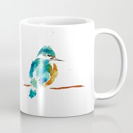 Golden Kingfisher Coffee Mug
