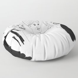 Rickety Cricket Floor Pillow