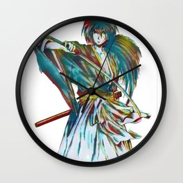 The Way of the Sword Wall Clock