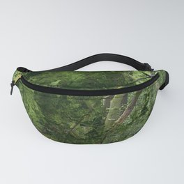 Digital forest Fanny Pack