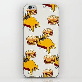 Double Cheeseburger Monday iPhone Skin
