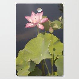 Pink Lotus by Teresa Thompson Cutting Board