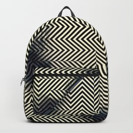 Square Opt Illusion Backpack