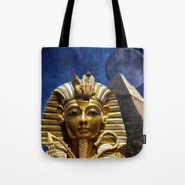 King Tut and Pyramid Tote Bag