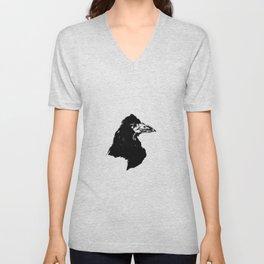 Edouard Manet - The raven by Poe 6 Unisex V-Neck