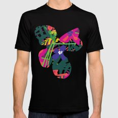 Lanai Mens Fitted Tee Black SMALL
