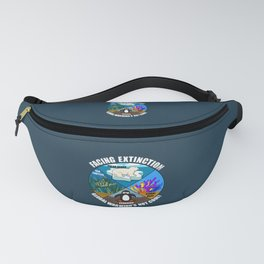 Facing Extinction:  Global Warming's Not Cool 2 Fanny Pack