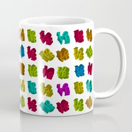 Rainbow 3D LOVE Iconic design Coffee Mug