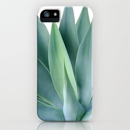 Agave blanco iPhone Case