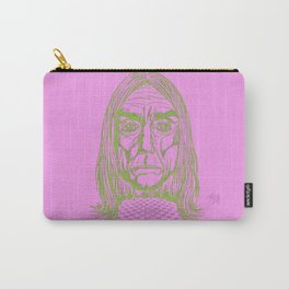 """Ready to Die"" by Tim Lukowiak Carry-All Pouch"