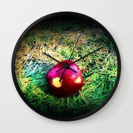 Poison Apple (Snow White) Wall Clock