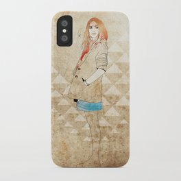 Girl One iPhone Case