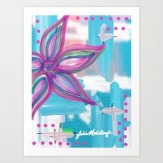 Easter Flower Art Print