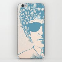 dylan iPhone & iPod Skins featuring Dylan by Jeroen van de Ruit