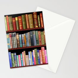 Vintage books ft Jane Austen & more Stationery Cards