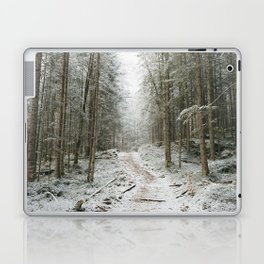 For now I am Winter - Landscape photography Laptop & iPad Skin