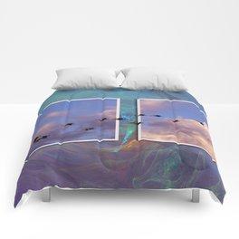 Flying Across Comforters