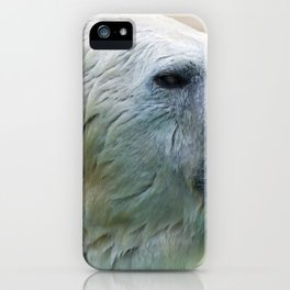 Impressive Beast Huge Wet Head Surfaces From Water Ultra High Definition iPhone Case