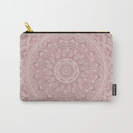 Mandala - Powder pink Carry-All Pouch