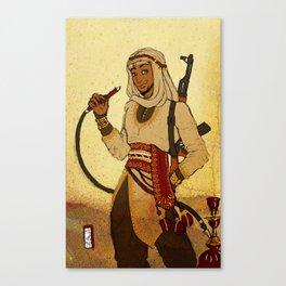 Modern Day Aladdin Canvas Print