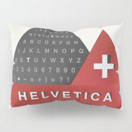 Helvetica Pillow Sham