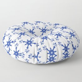 Portuguese Tiles Floor Pillow