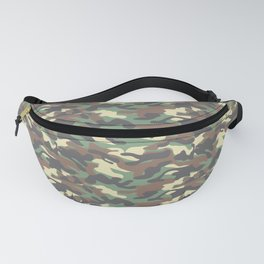 Camouflage Pattern | Camo Stealth Hide Military Fanny Pack