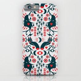 Thunder Pattern iPhone Case